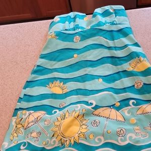 Lilly Pulitzer sundress Size 8 very nice print